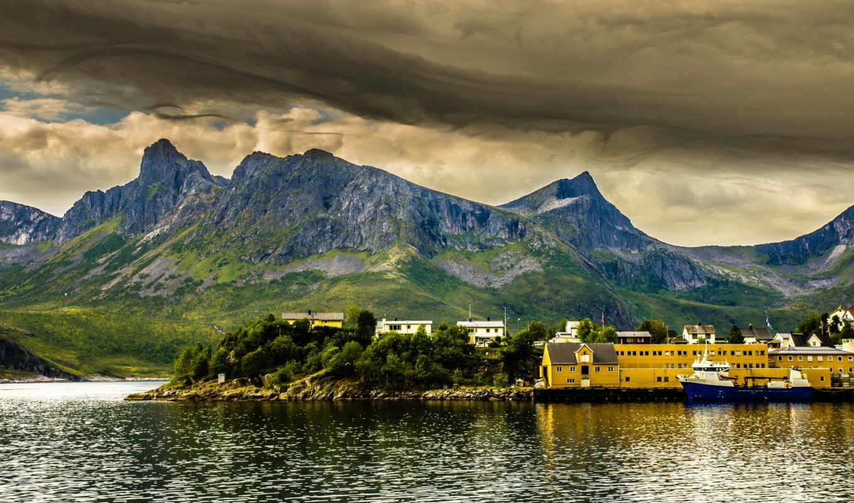 норвегия, природа, ipad, norvège, xperia, sony, hdr, iphone, залив, htc,