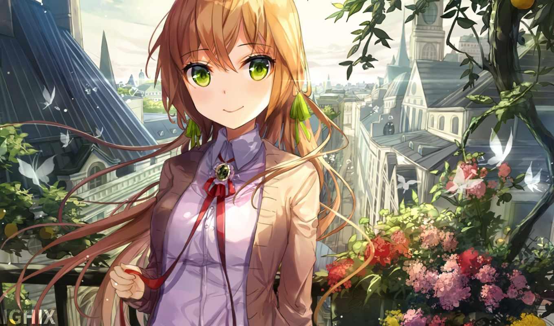anime, девушка, cute, girls,