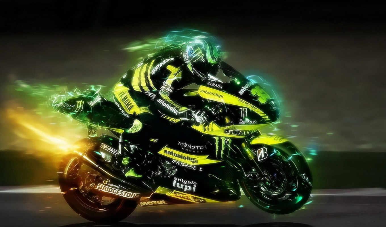 wallpaper, мотоцикл, жёлтый, чёрный, картинку, картинка, picture, мотоциклы, пламя, скорости, motorsport,