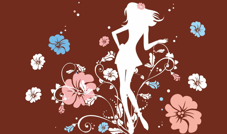 flower, girl, настроение, psychedelic,