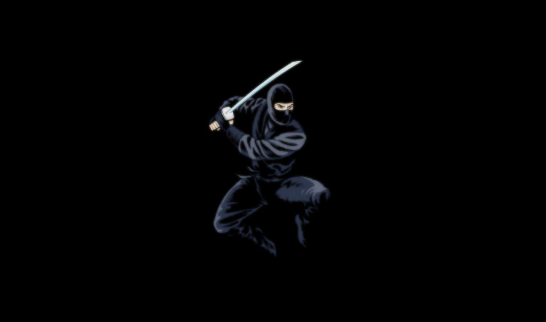 ninja, темный, ниндзя, меч, black, ninjas,