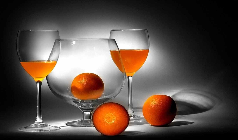 сок, апельсины, бокалы, апельсиновый, натюрморт, еда, изображение, picsfab, фабрика, картинок, правой, мыши, кнопкой,