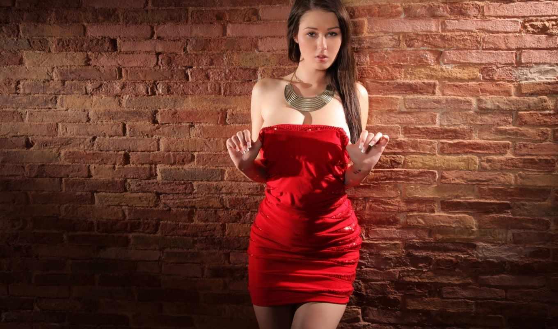 ,девушка,платье ,красное платье,
