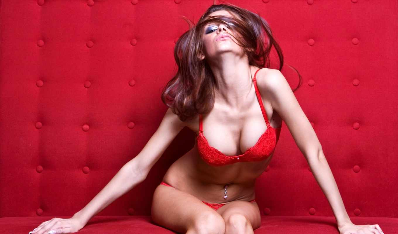 девушка, белье, girls, красивых, красное, подборка, red,