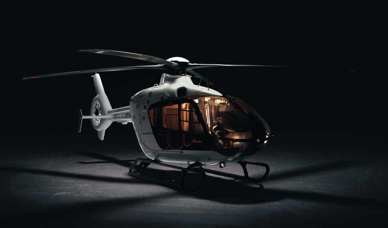 модель, вертолета, вертолет, лопости,