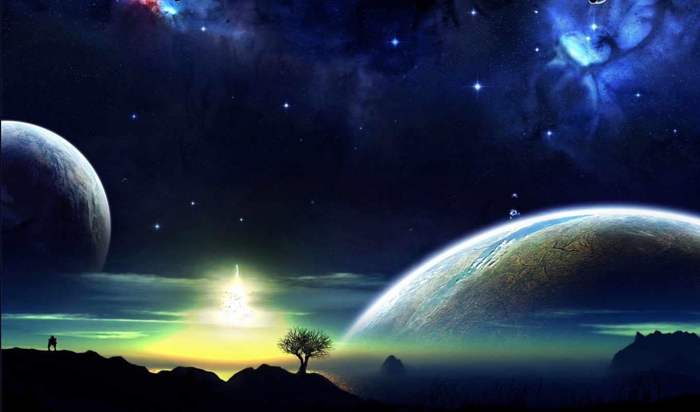 art, another, has, автор, вселенная, красивых, подборка, космос, планеты,