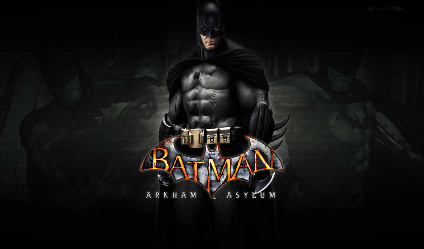 batman, comics, asylum, arkham, добавил,