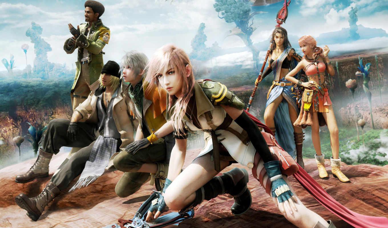 fantasy, final, игры, akihabara,