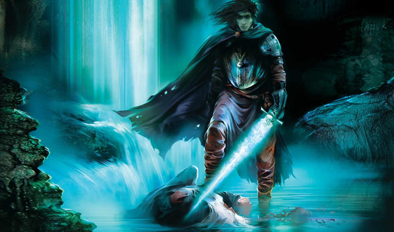 empires, annihilated, heroes, свет, вода, плащ, магия, меч,