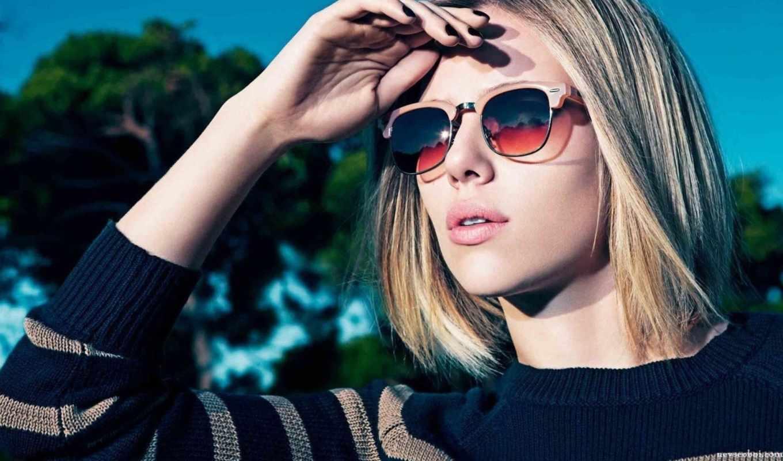 girls, johansson, девушка, солнцезащитных, очков, очки, скарлетт,