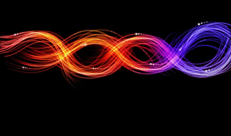 абстракция, весна, широкоформатные, линии, узоры, графика, разделе,