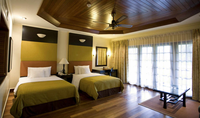 интерьер, спальни, ламинат, стен, интерьере, design,