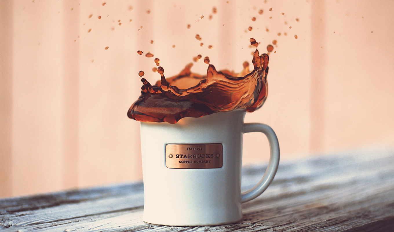 starbucks, coffee, desktop, logo, high, splash,