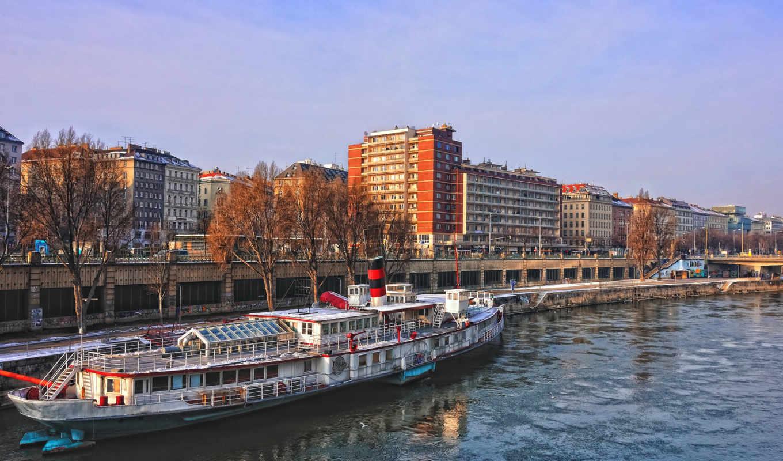 город, vein, австрия, река, города,