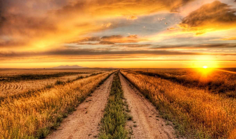 природа, iphone, солнца, тропинка, красивые, трек, landscape,
