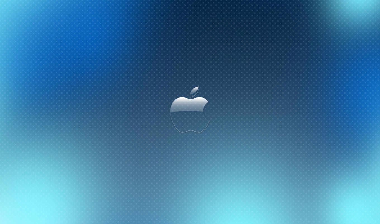 blue, небо, apple, views, desktop,