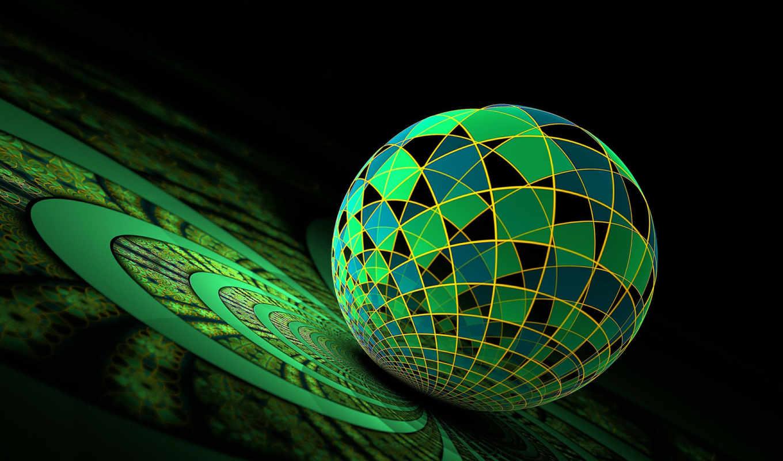 desktop, computer, collection, графика, абстрактная, фона, you, рабочем, столе, sphere, часть,