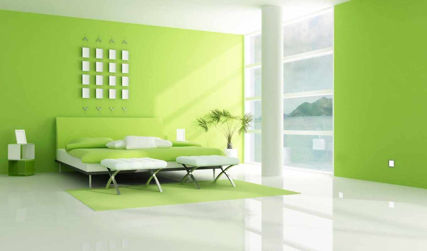 green, bedroom, ideas, design, link, decoration,