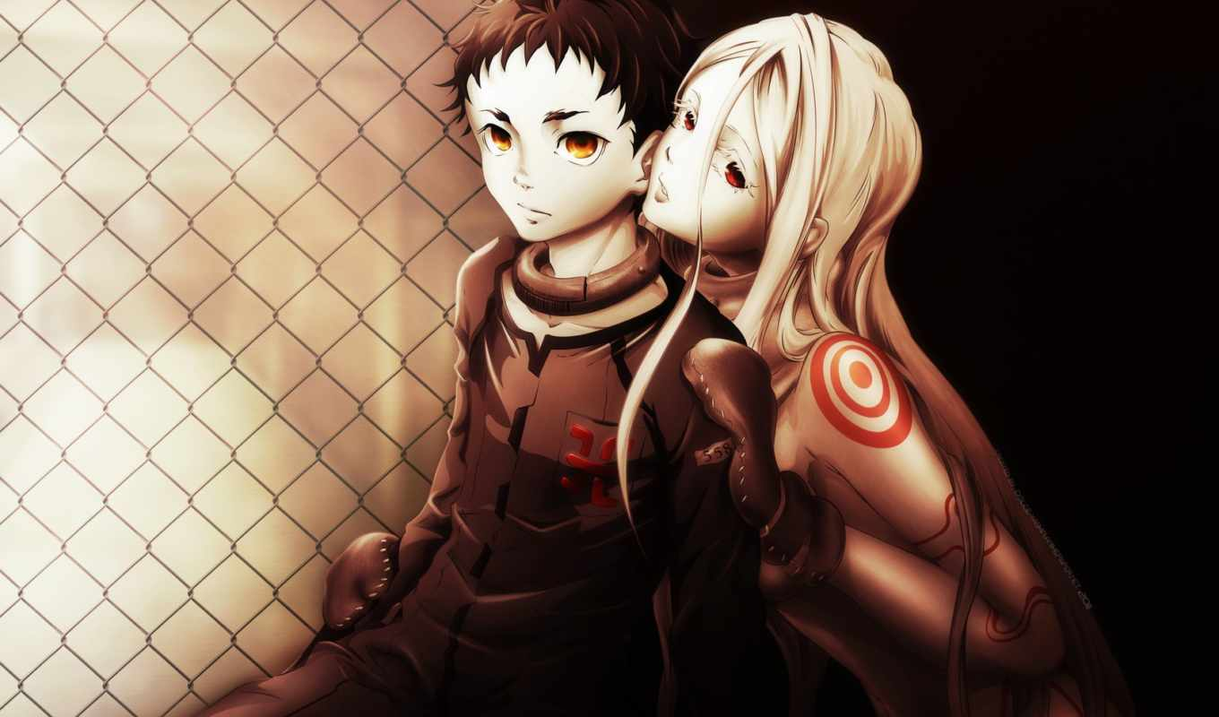 anime, deadman, wonderland, смертников, country, без, чудес,