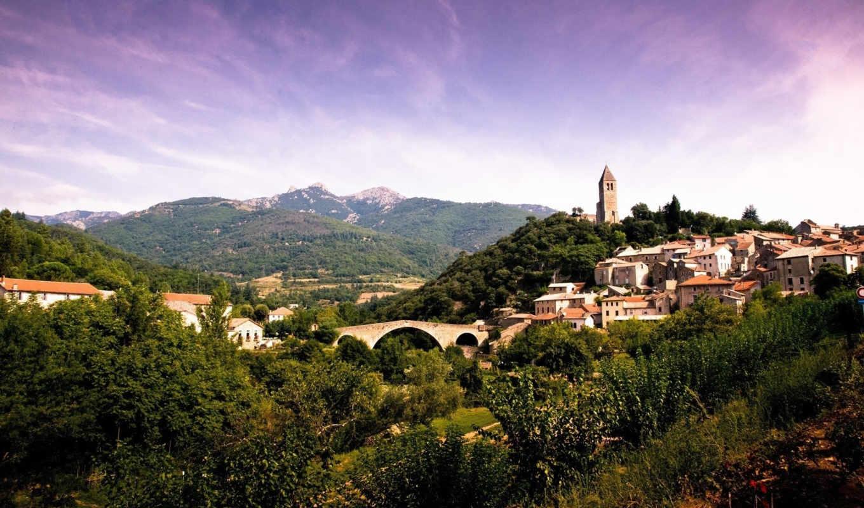 france, scenery,