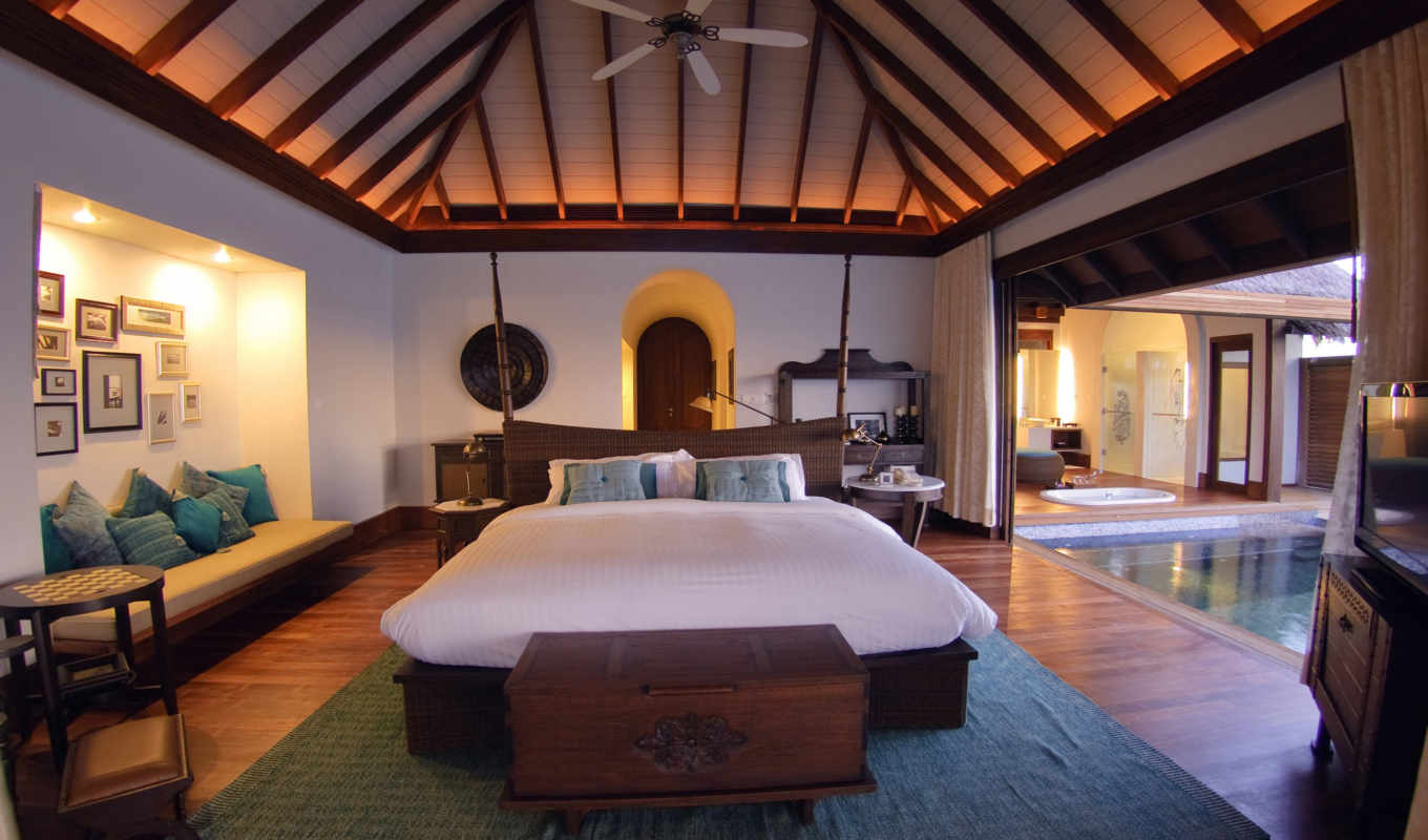 villas, anantara, kihavah, maldives, resort, отеля, und,