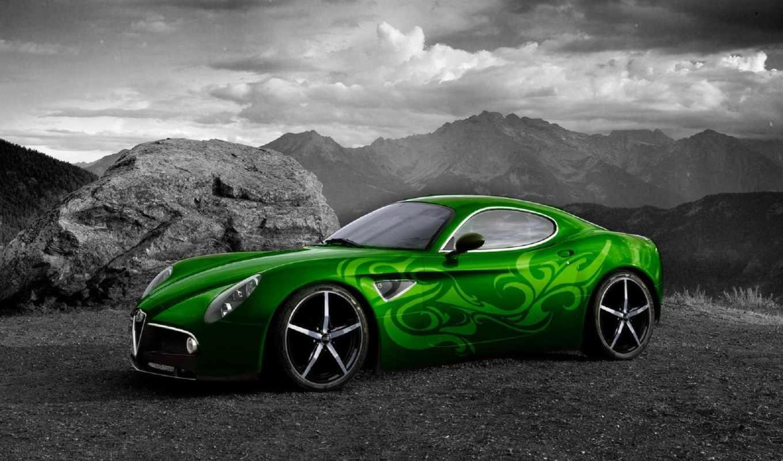 Alfa Romeo Tuning Fondo Escritorio Alfa Romeo Tuning: Обои авто, тюнинг, ретро , раздел