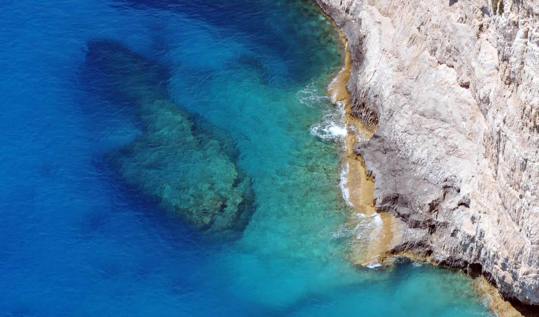 море, камень, пляж, corfu, top, природа, travel, lists, ocean,