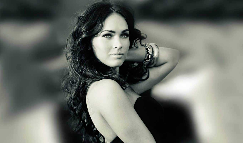 megan, fox, девушка, модель, взгляд, actress, брюнетка, делайте, house, так, платье, brunette, hair,