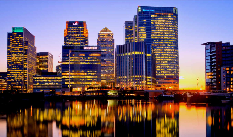 уорф, канарейка, london, англия, великобритания, картинка, great,