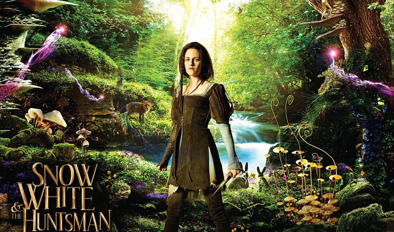 white, снег, егерь, лес, fantasy, dark, магия, piece,