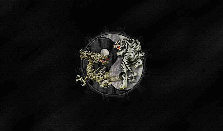 yang, wallpaper, dragon, and, tiger, ying, is, fantasy, my, tigre, so, yin,