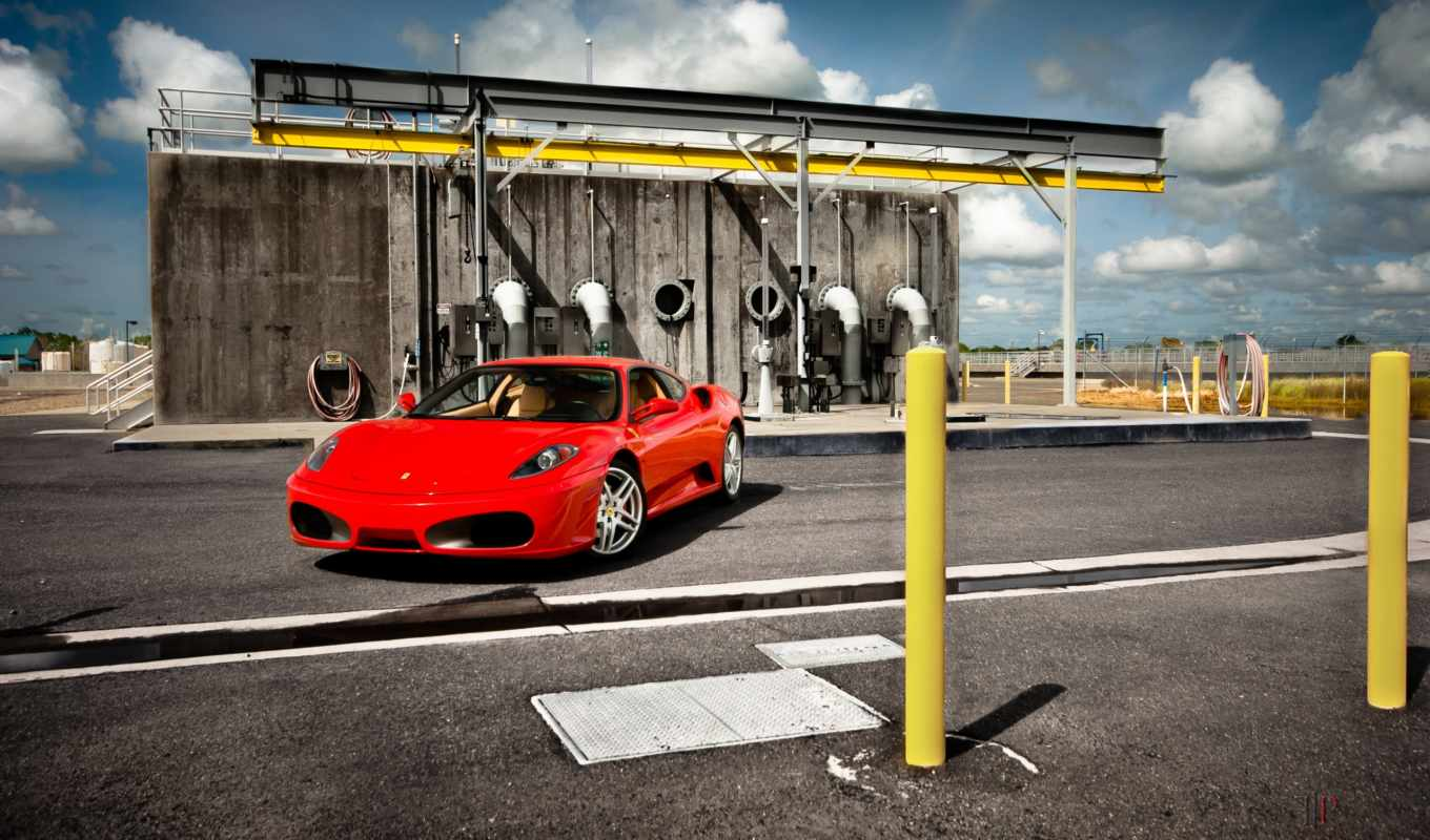 ferrari, red, photography,