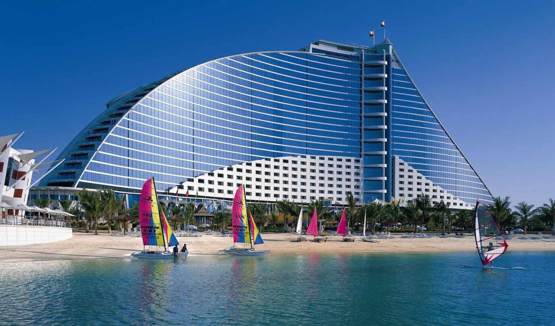 dubai, джумейра, кнут, hotel, пляж, jumeirah, города, оаэ, отели,
