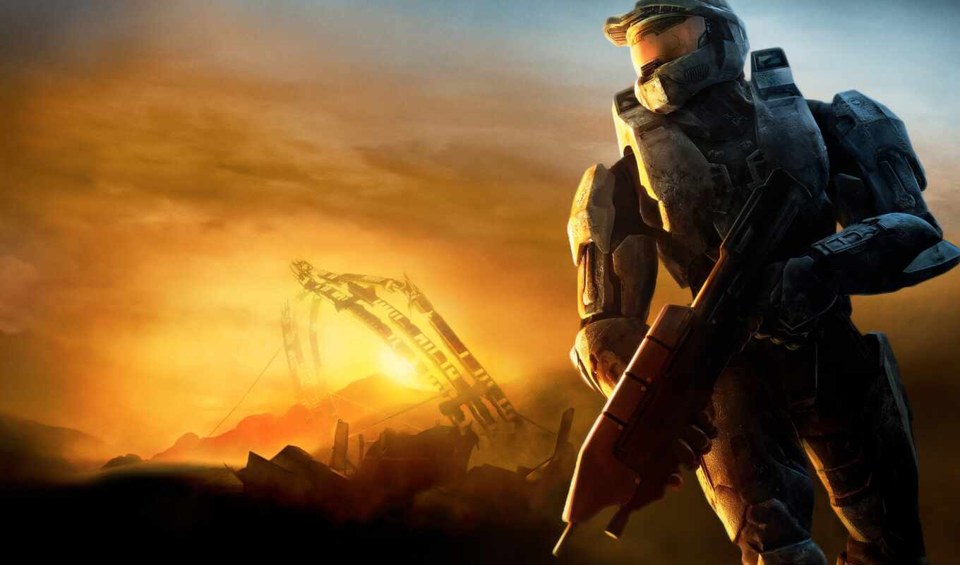 halo, games, desktop,