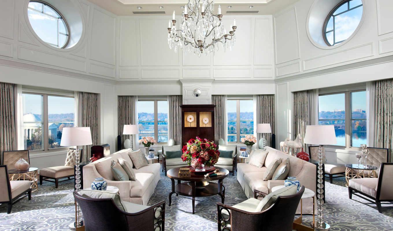 washington, mandarin, oriental, suite, presidential, room,