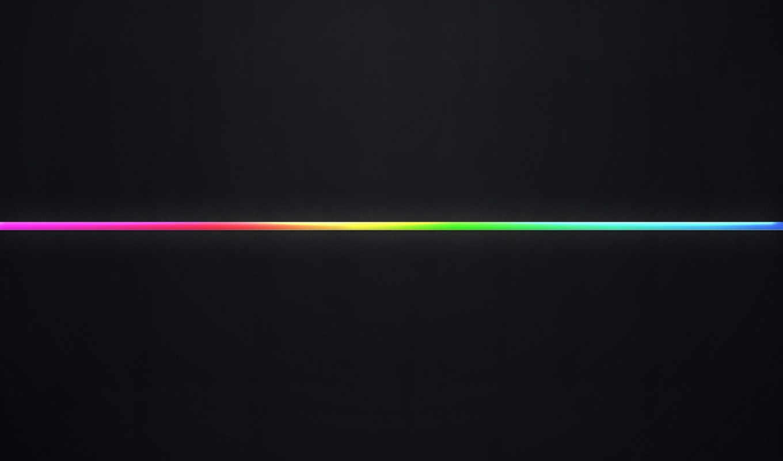 black, background, multi, colored, neon, blue, line, desktop,