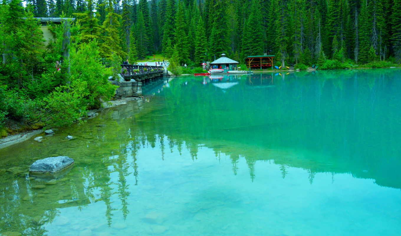 priroda, ozero, kanada, озеро, канады, national, park,