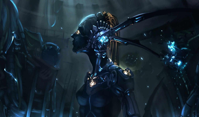 фантастические, art, красивые, wen, монитора, качестве, fantasy, tags, кликабельно, будущего, вымышленного, миров, изображением, робот, similar, девушка, women,