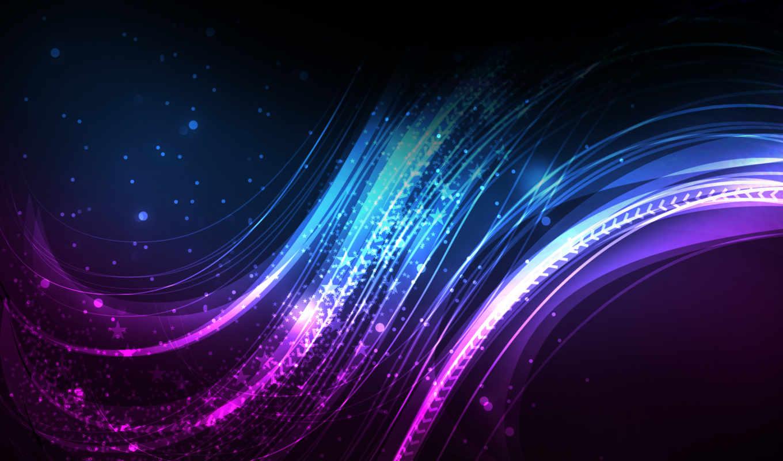 линии, свечение, лазурь, лучи, изгиб, рендеринг, abstract, desktop, design, background, click,