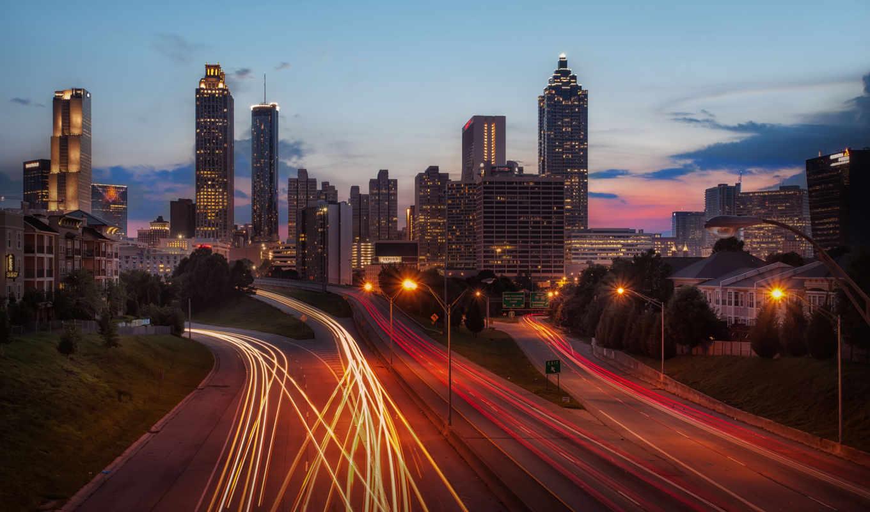 atlanta, skyline, города, стран, разных, photos, stock, нашего, мира, hot, georgia,