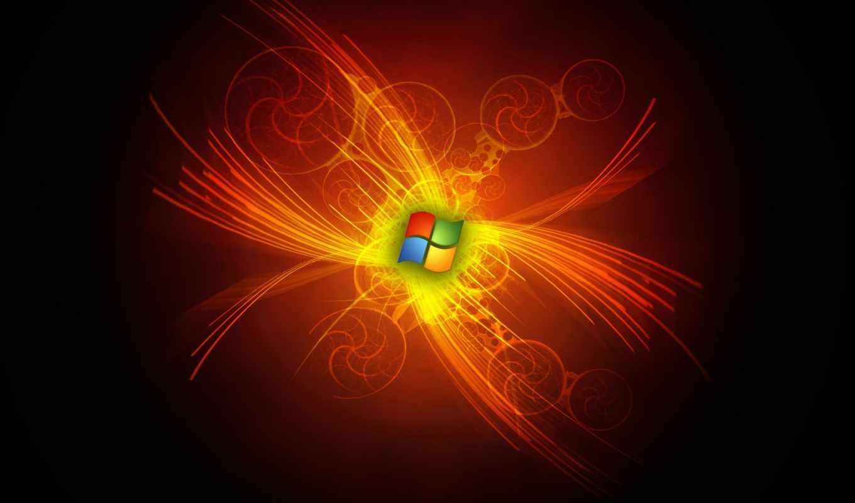 windows, windows 7, win-7, красный,