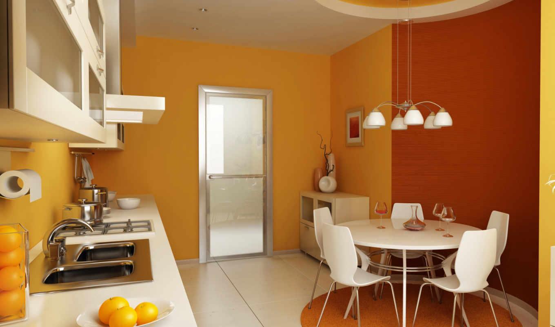 dizain, interer, кухни, интерьере, кухня, кухне,