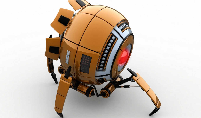 robot, kartinka, модель, фантастика, science, 3d,