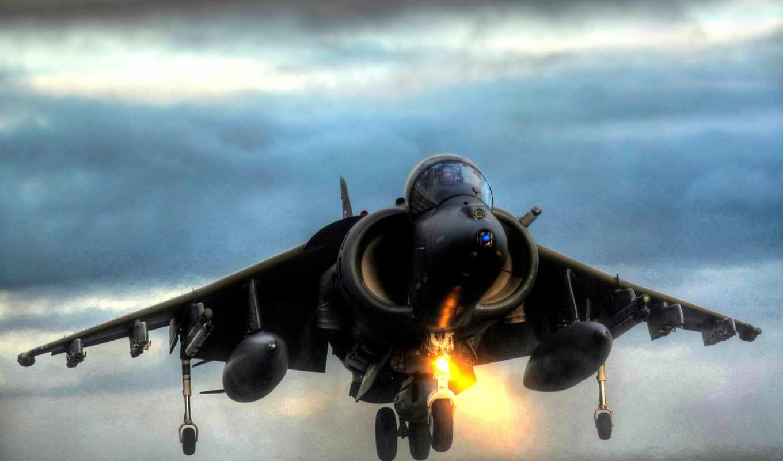 jet, посадка, вертикальная, harrier, fighter, military,