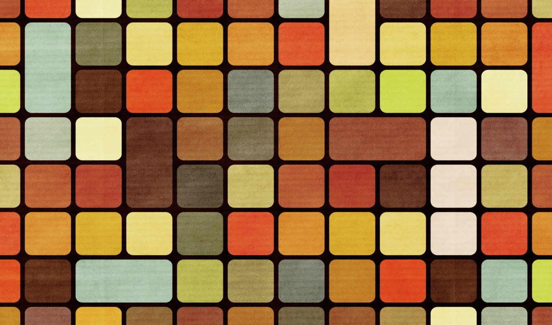 Мозаика, квадраты, текстура,
