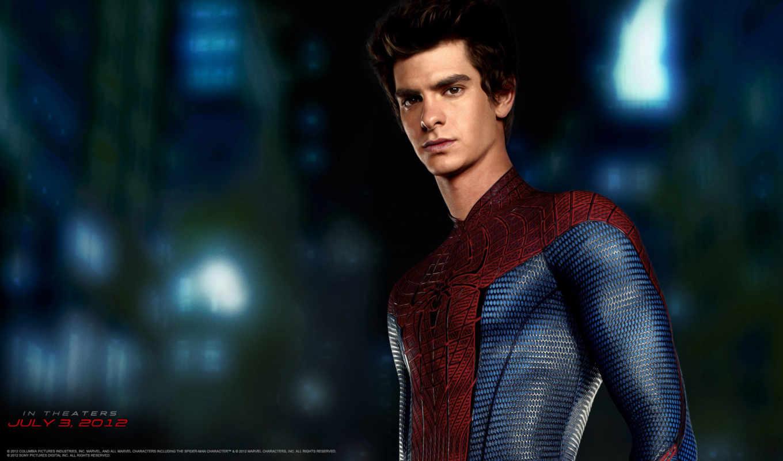 паук, мужчина, new, amazing, без, маски,