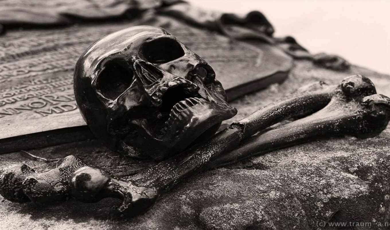 Обои Skull, Bones, Cross , раздел Разное, размер 3840x2160