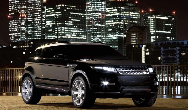 rover, land, range, full, cooper, lrx, widescreen, concept,