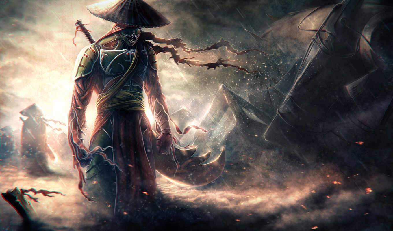 самурай, воин, possible, anime, оружие, меч, шляпа, установить, pic, фантастика,