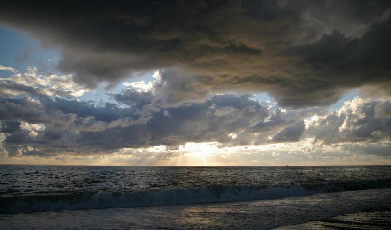 ,море, тучи, закат, clouds, dark, userl, tli, rm,